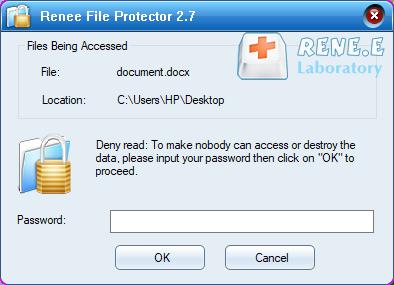 definir uma senha para o arquivo criptografado